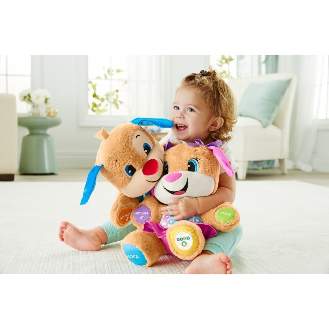 Сестричка Ученого щенка с технологией Smart Stages обновл. (укр.) Fisher-Price - 18374