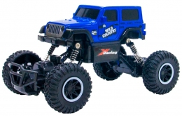 Автомобиль Sulong Toys Off-road crawler на ручном управлении – Wild country (синий, аккумулятор 3,6V, 1:20)  - 20229