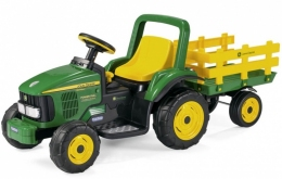 JOHN DEERE POWER PULL +JOHN DEERE STAKE-SIDE