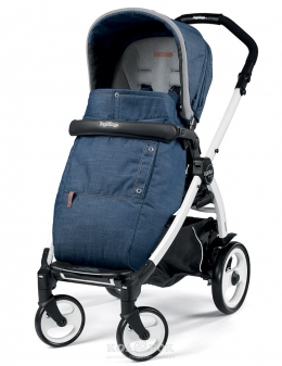 Сидение Peg Perego к коляске Pop-Up Urban Denim синий джинс  - 15771