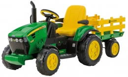 "Трактор Peg Perego JOHN DEER ""Ground Force""  - 1600"