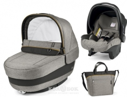 Модульный набор Peg-Perego ELITE Luxe Grey серый  - 16001