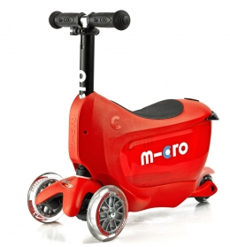 Самокат Mini Micro 2go Deluxe Red  - 7683
