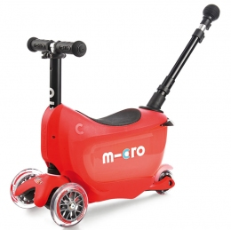 Самокат Mini Micro 2go  Deluxe Plus Red  - 11439