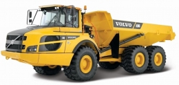 Автомодель серии Construction Bburago Самосвал VOLVO A25G  - 17803