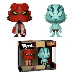 Набор фигурок Funko Pop Фанко Поп Action Хеллбой и Эйб Сапиен Hellboy Abe Sapien and Hellboy 10см H HA227  - 61604