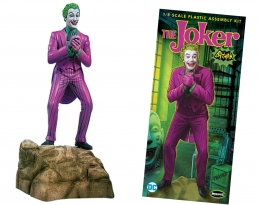 Фигурка Joker Джокер Batman Classic 1966 TV Series Model Kit 11см Moebius 956 J  - 71118