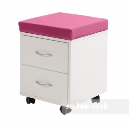 Детская тумбочка FunDesk SS15W Pink  - 71609