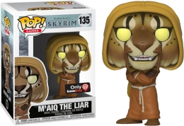 Фигурка Funko Pop Фанко Поп Скайрим Майк Лжец Skyrim Maiq the Liar GameStop Exclusive 10 см Game ES ML 135  - 61450
